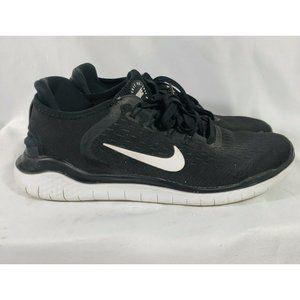 Men's Nike 942836-001 Black/White Lace-up Athletic